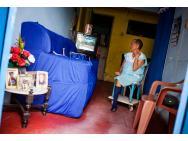 Moradora da vila dos casados do Hospital da Mirueira. Foto: marcelo londono