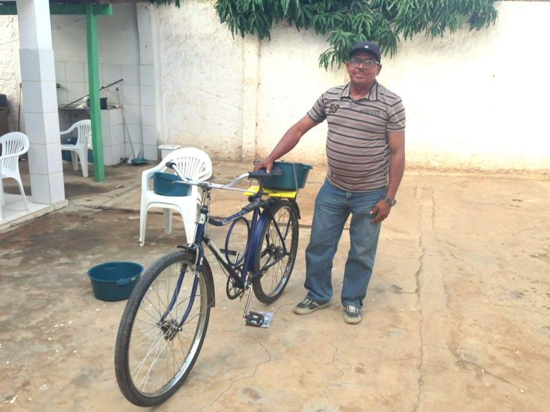 Participante do grupo de autocuidado de Lagoa Grande - PE