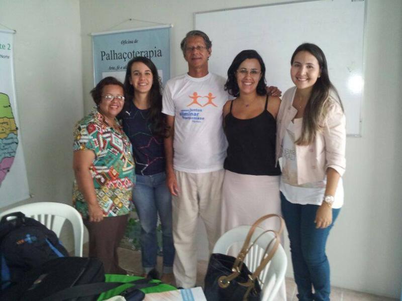 Reunião na sede da Pastoral da Saúde, Nordeste 2 , com representantes do Morhan Pernambuco, Universidade de Pernambuco e Secretaria Estadual de Saúde de Pernambuco