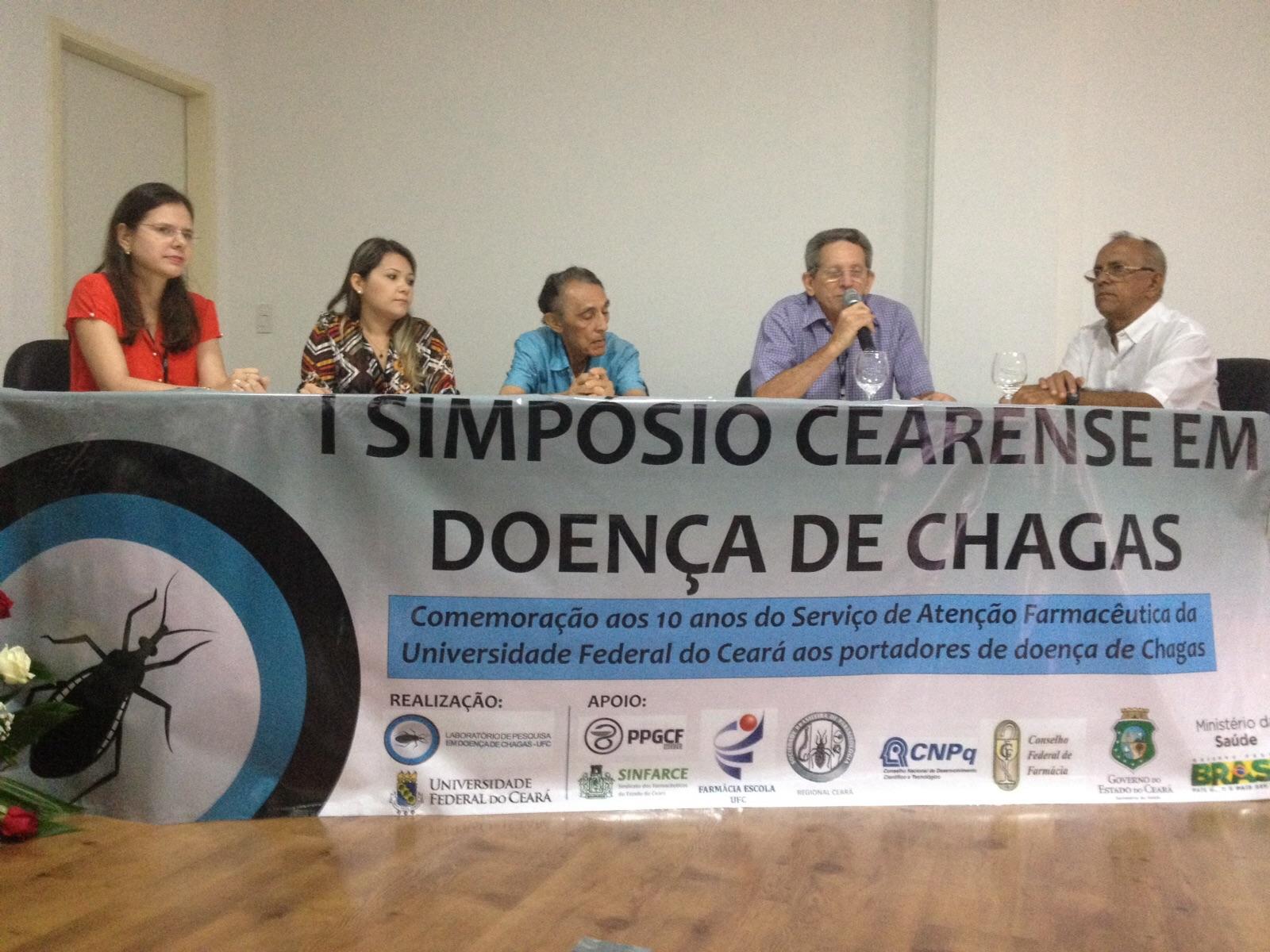 Painel de pessoas atingidas pela Doença de Chagas